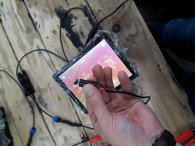 Ремонт аппарата для татуажа архитектор. Проблема с педалью, сломался штекер микромотора. Ремонт в Краснодаре,Москве